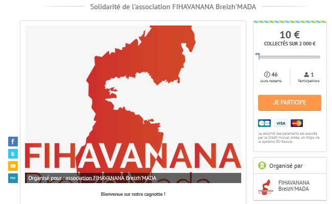 Fihavanana Breizh'Mada - site participatif