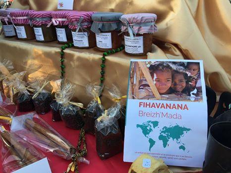 Fihavanana Breizh'Mada - vente confitures